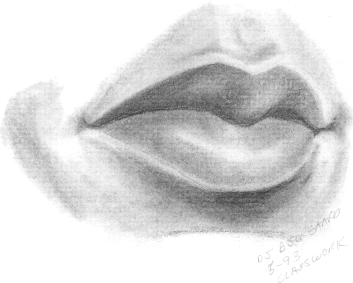 How To Draw Human Mouth